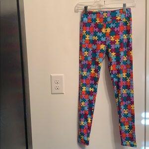 LuLaRoe puzzle piece leggings